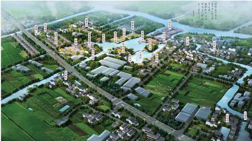 双林镇七星桥村美丽乡村小镇(绿化工程)